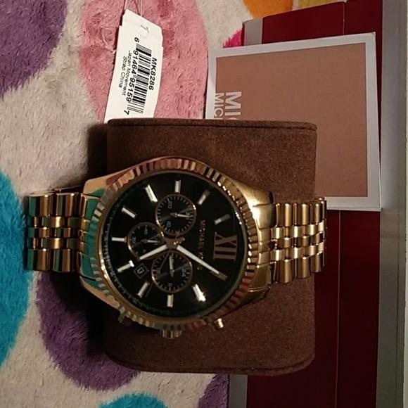 918c669035b3 Authentic NWT Mens Michael Kors watch. MK 8286 CE
